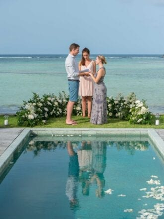 St Barths re-proposal and vow renewal