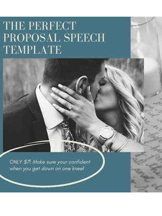 ready made proposal speech template