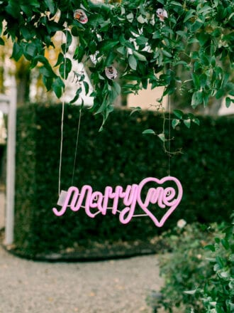 Marry Me Sign Neon Sign Proposal