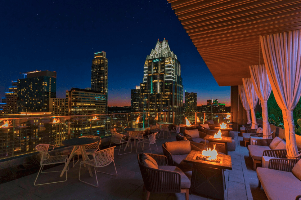 Best Rooftop for proposal in Austin Texas