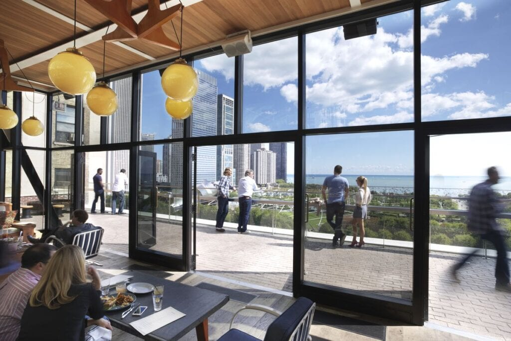 Chicago IL Rooftop places to propose