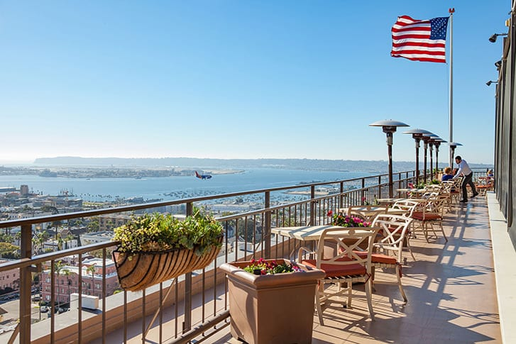 San Diego Rooftop for proposal with a view