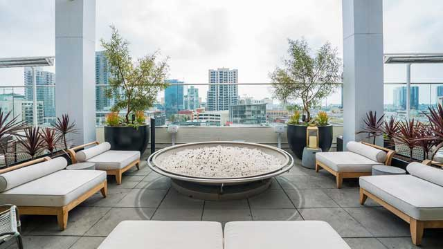 San Diego Rooftop for proposal planning