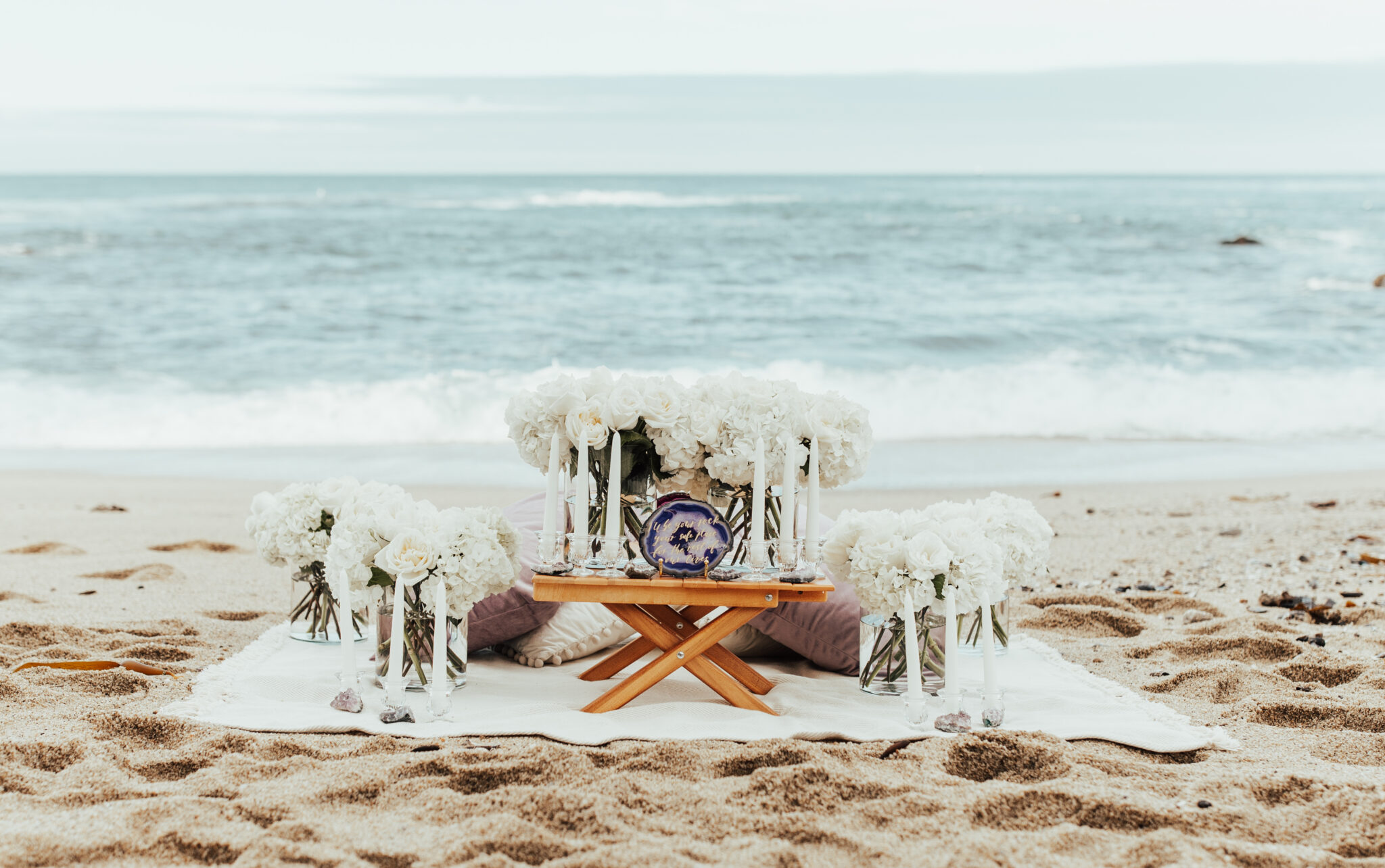 Geode proposal in the sand