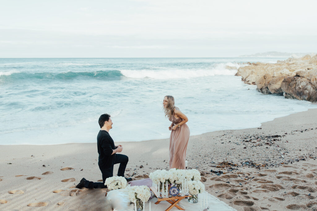 carmel ca surprised reaction marriage proposal