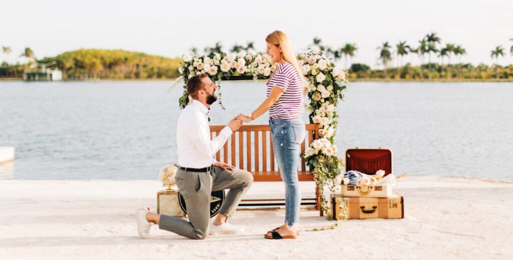 Miami Private Marriage Proposal