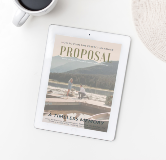 how to plan the perfect marriage proposal ebook