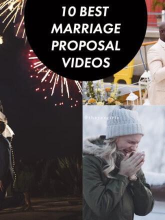 10 best marriage proposal video photos