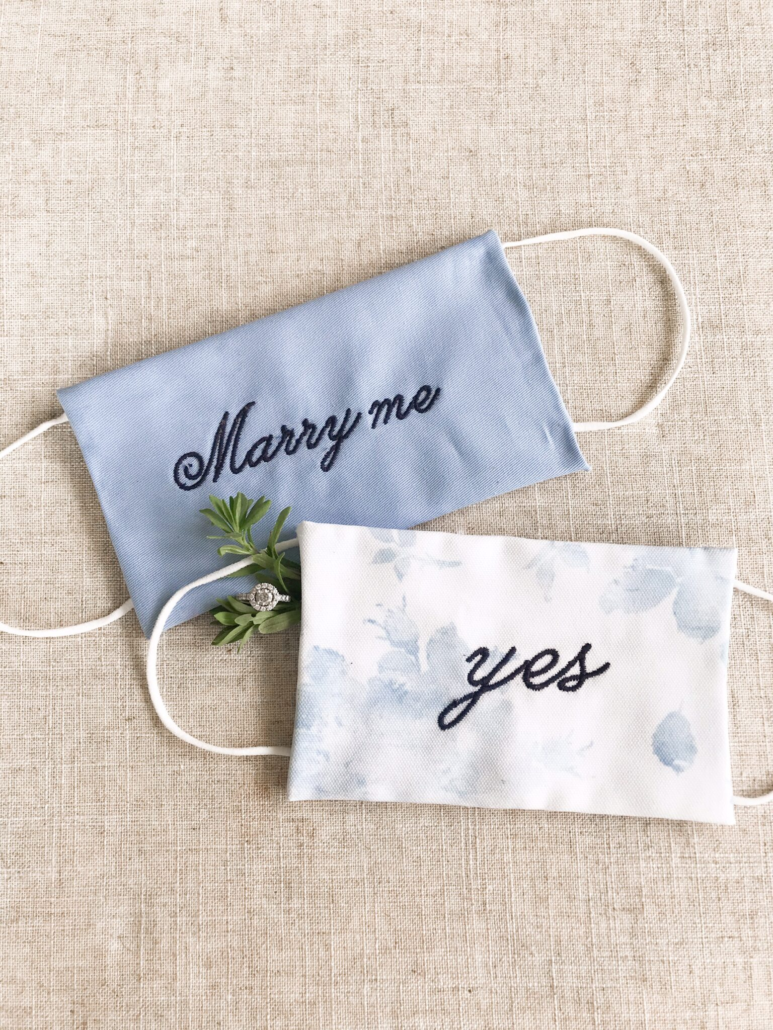 A marry me mask