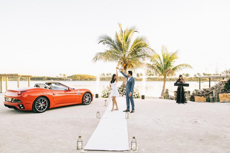 private beach miami for marriage proposal package the yes girls