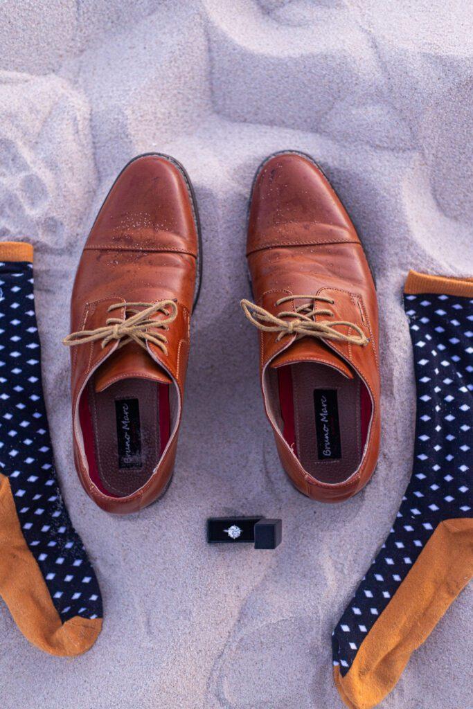 Box sock marriage proposal
