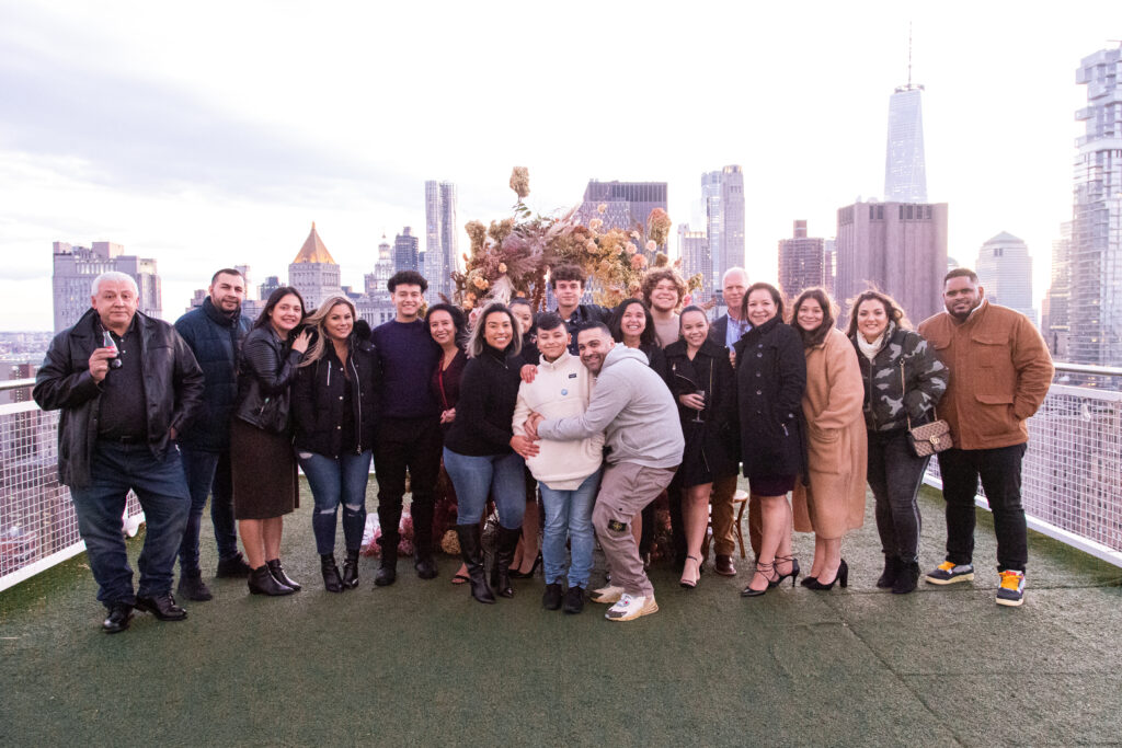Group Family Pic- New York Proposal