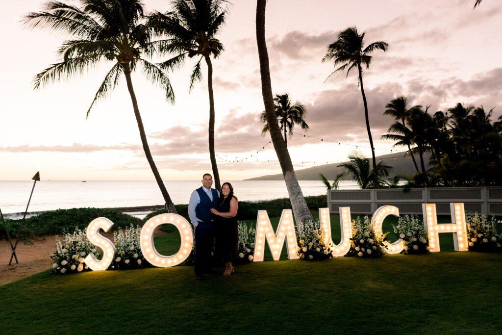 maui sunset proposal