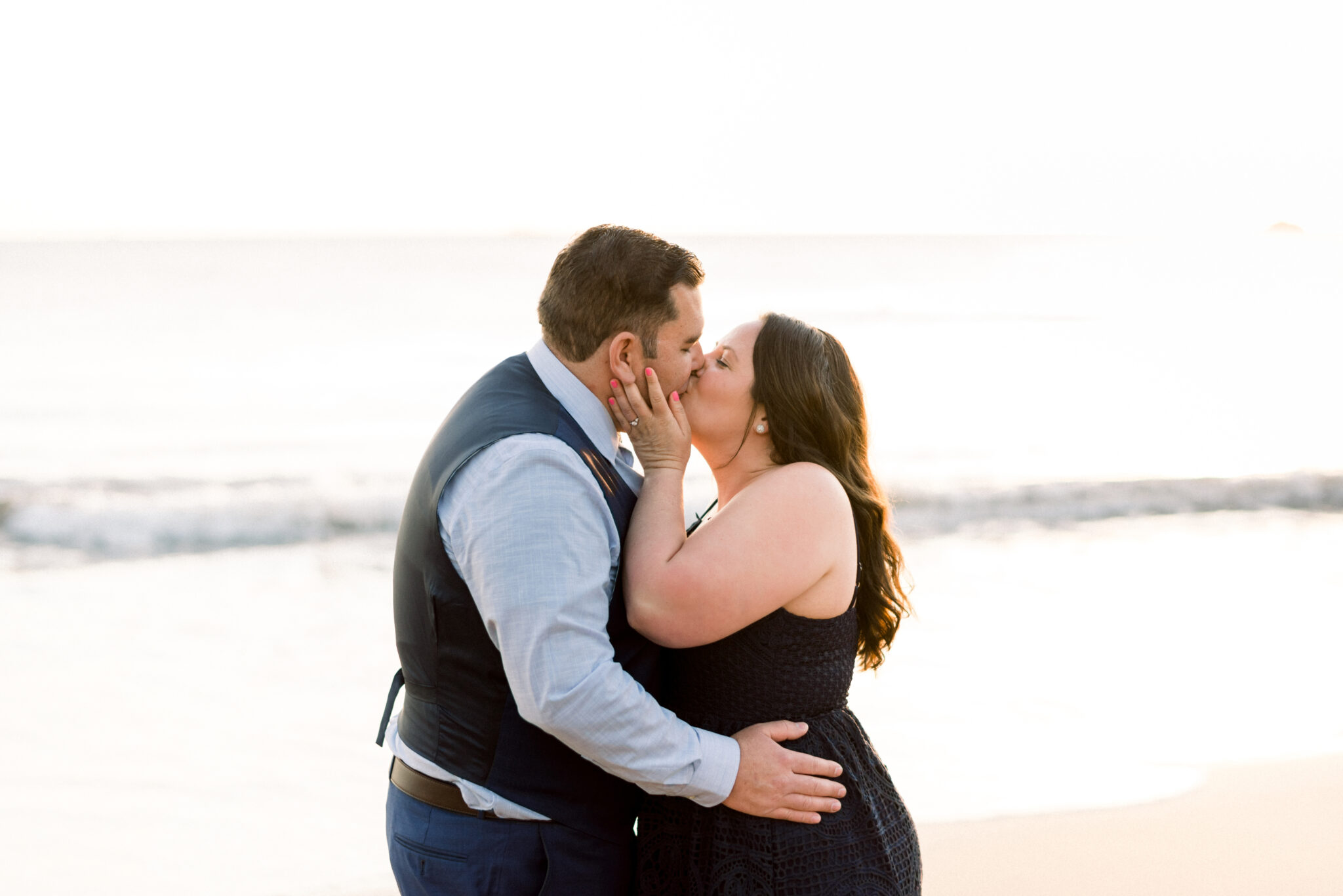 couple in love after proposal