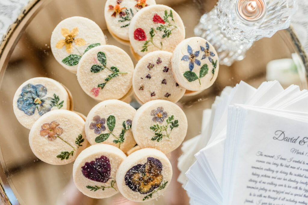 Flower Pressed Cookies