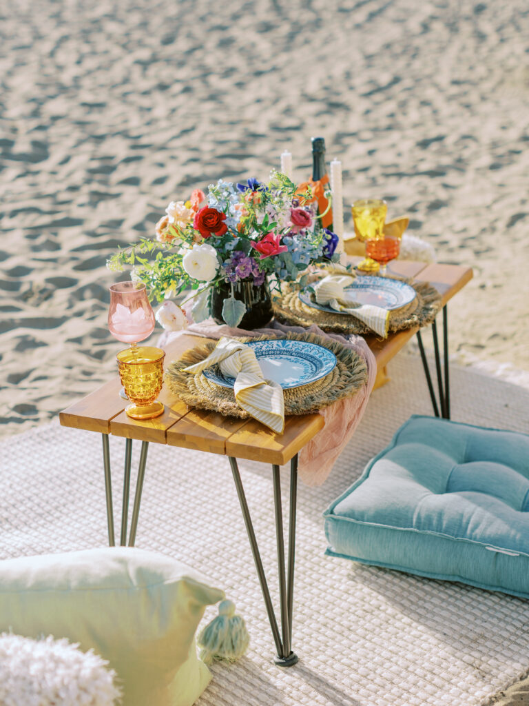 picnic on the beach proposal