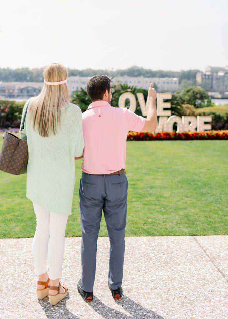 surprise proposal in Savannah