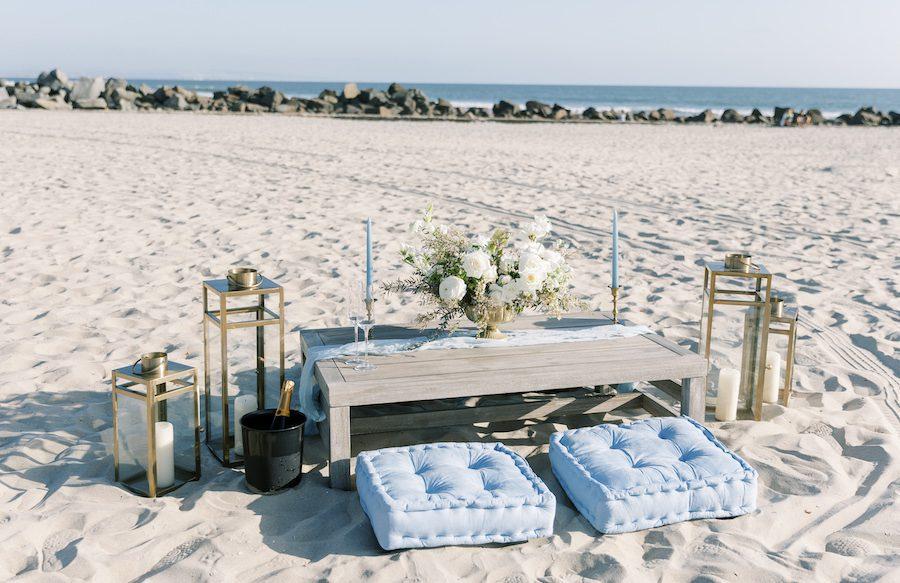 custom picnic proposal in san diego