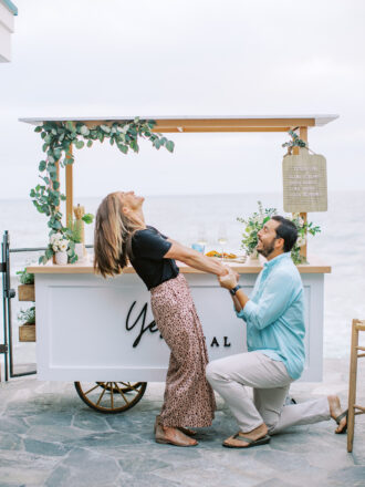 marriage proposal in orange county with Yes Local