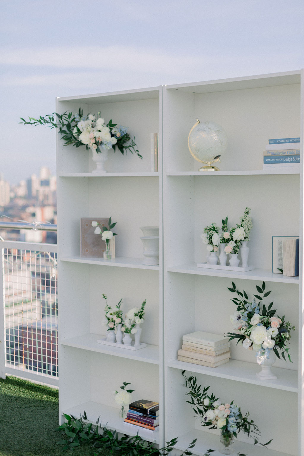 book shelf for proposal in new york