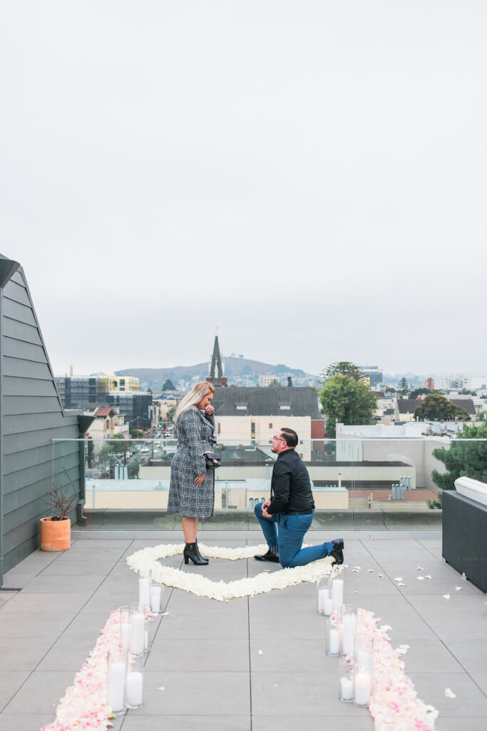 san francisco skyline rooftop proposal